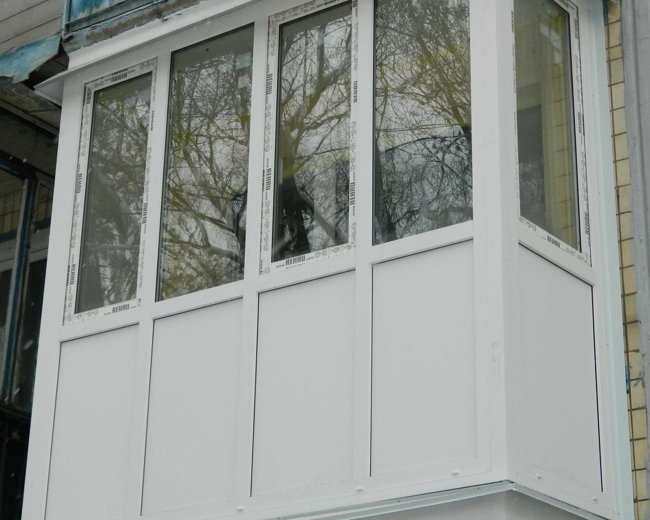 Балконы с выносом - окна и балконы в киеве.