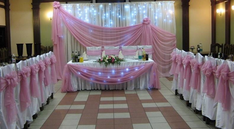 Украсить свадебного зала своими руками фото 400